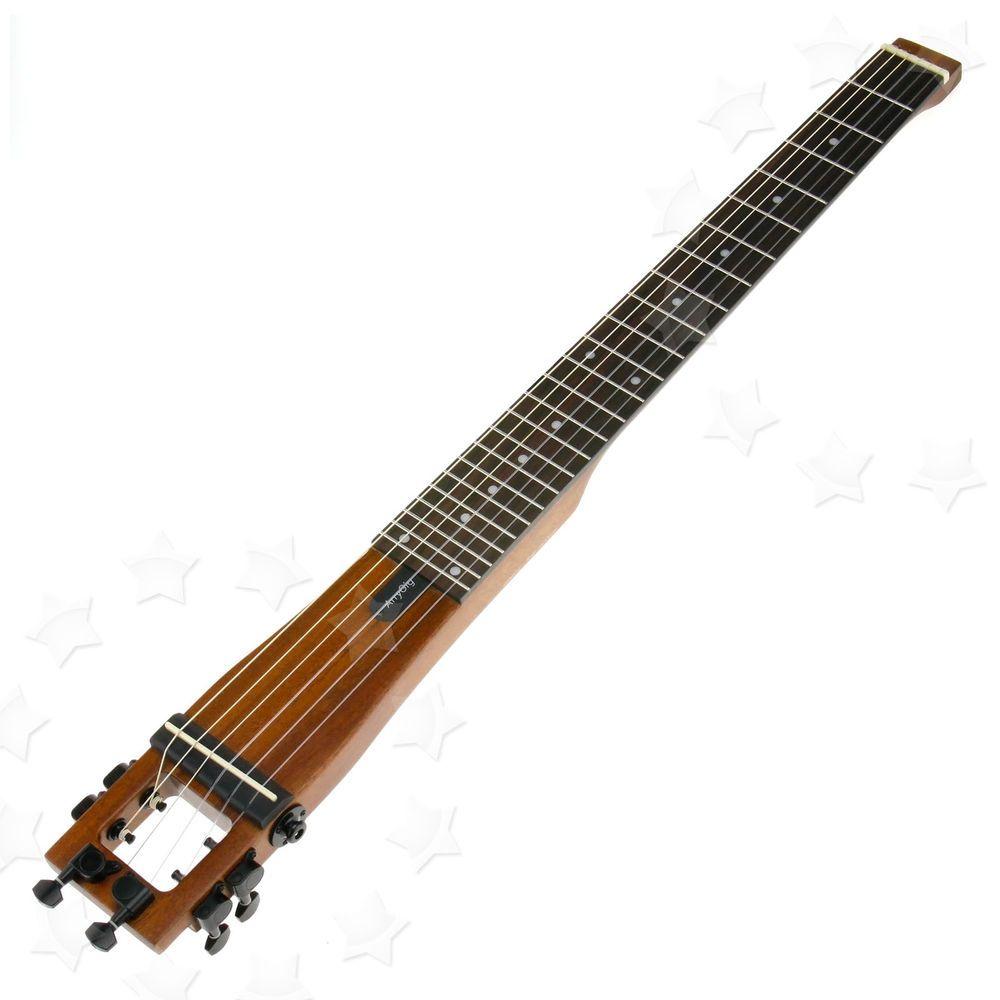 anygig agn nylon string full scale length travel guitar backpacker with bag guitar. Black Bedroom Furniture Sets. Home Design Ideas