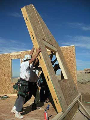 Structural insulated panels sips also known as foam for Sip home construction