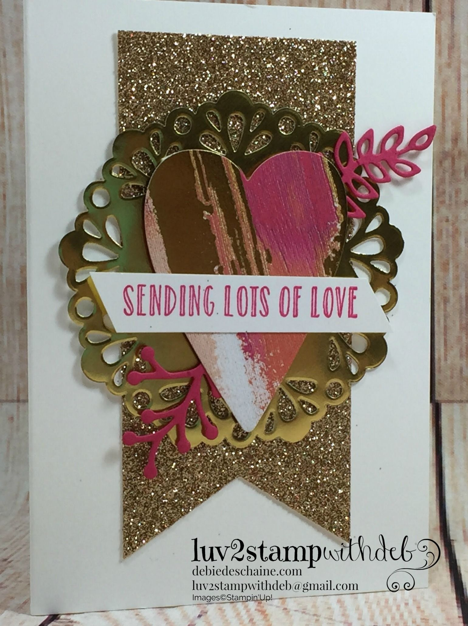 Sure Do Love You Bundle, Lots to Love Box Framelits and Hanging ...