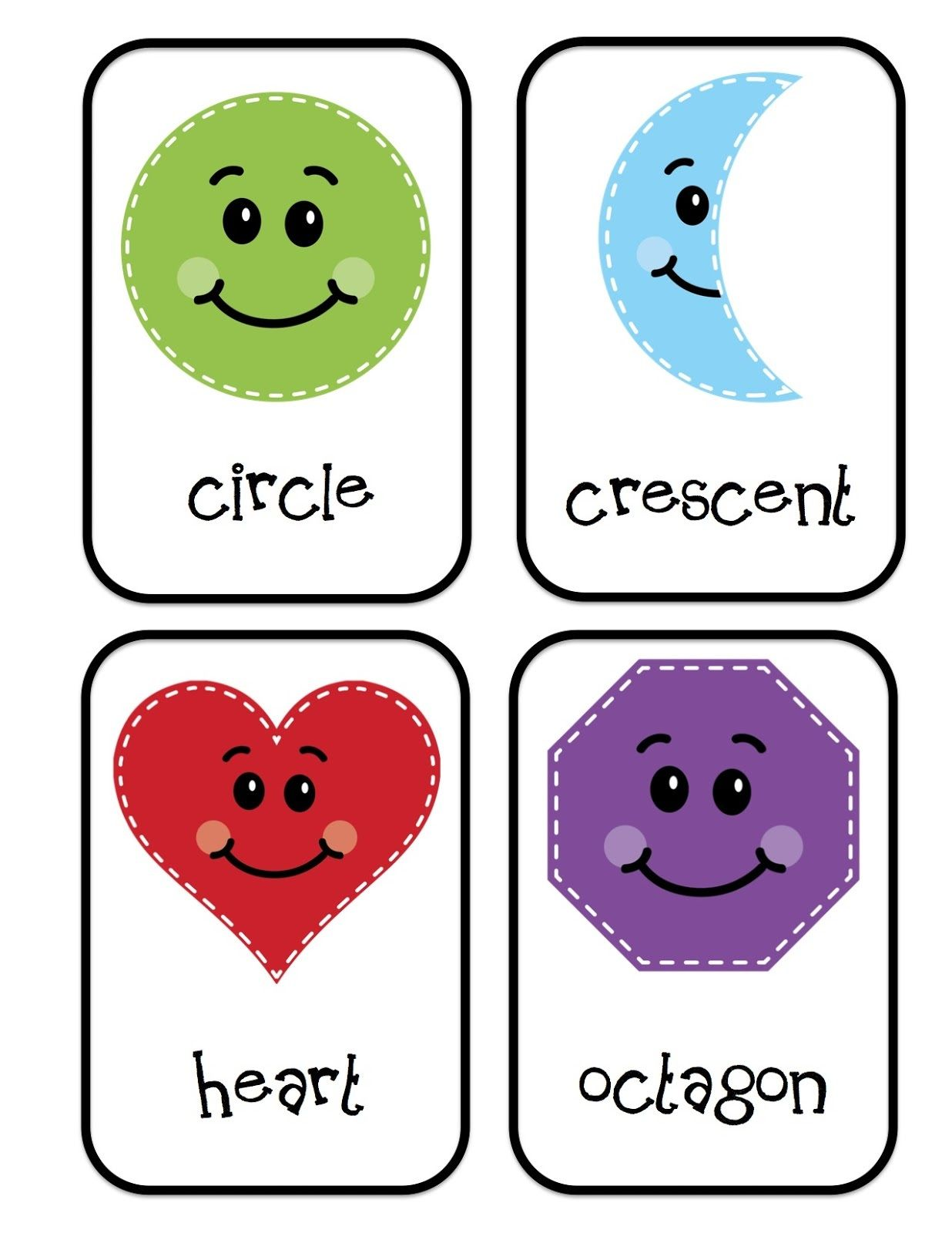 Preschool Printables Shapes For Students