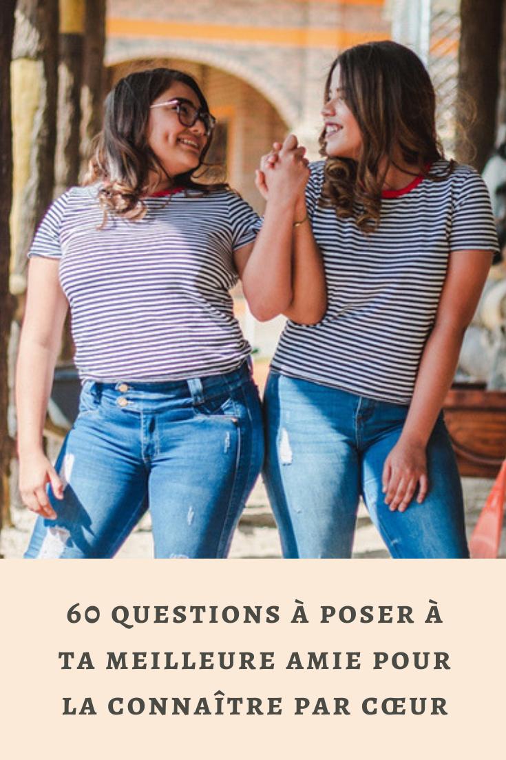 Question A Poser A Une Amie : question, poser, Questions, Poser, Meilleure, Mieux, Connaitre, Amie,, Amis,, Meilleur