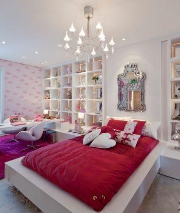 quarto de meninas rooms pinterest. Black Bedroom Furniture Sets. Home Design Ideas