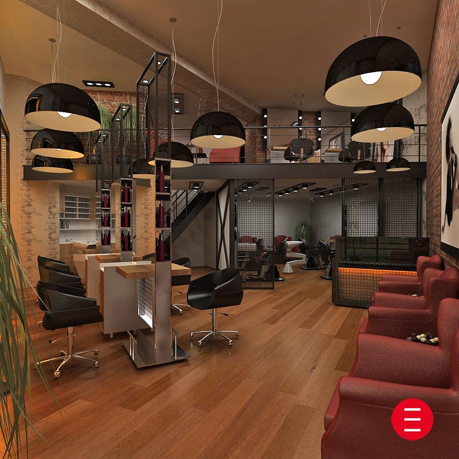 Bayan kuaför salonu tasarımları için tıklayın, www.alpeda.com