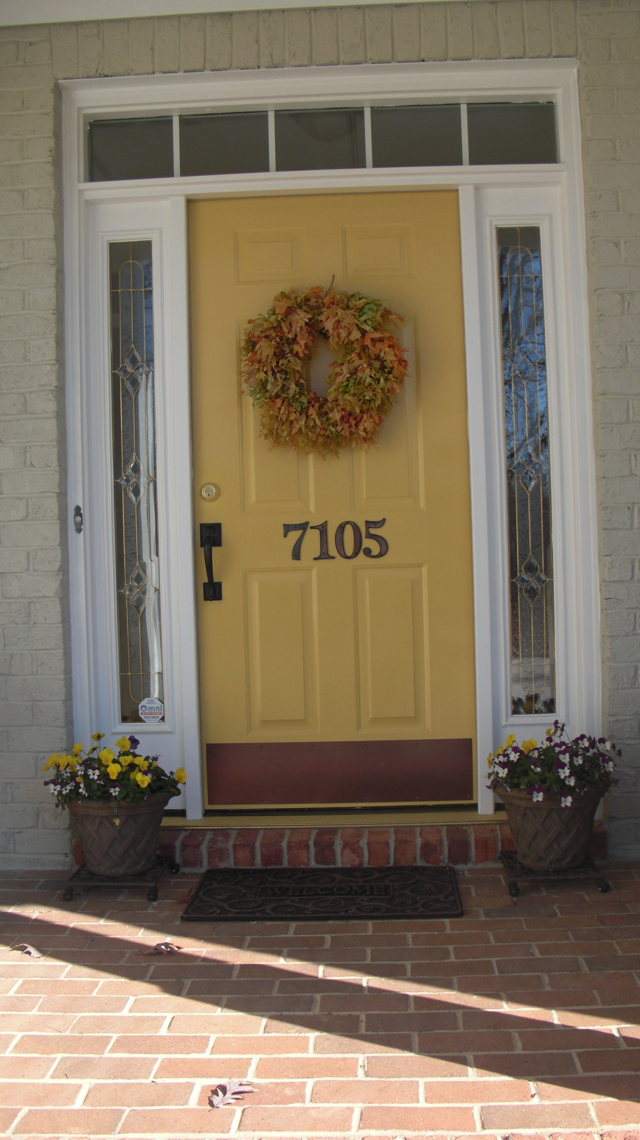 Pin By Jennifer Brammell On Dream Home Green Front Doors Best Front Door Colors Painted Front Doors
