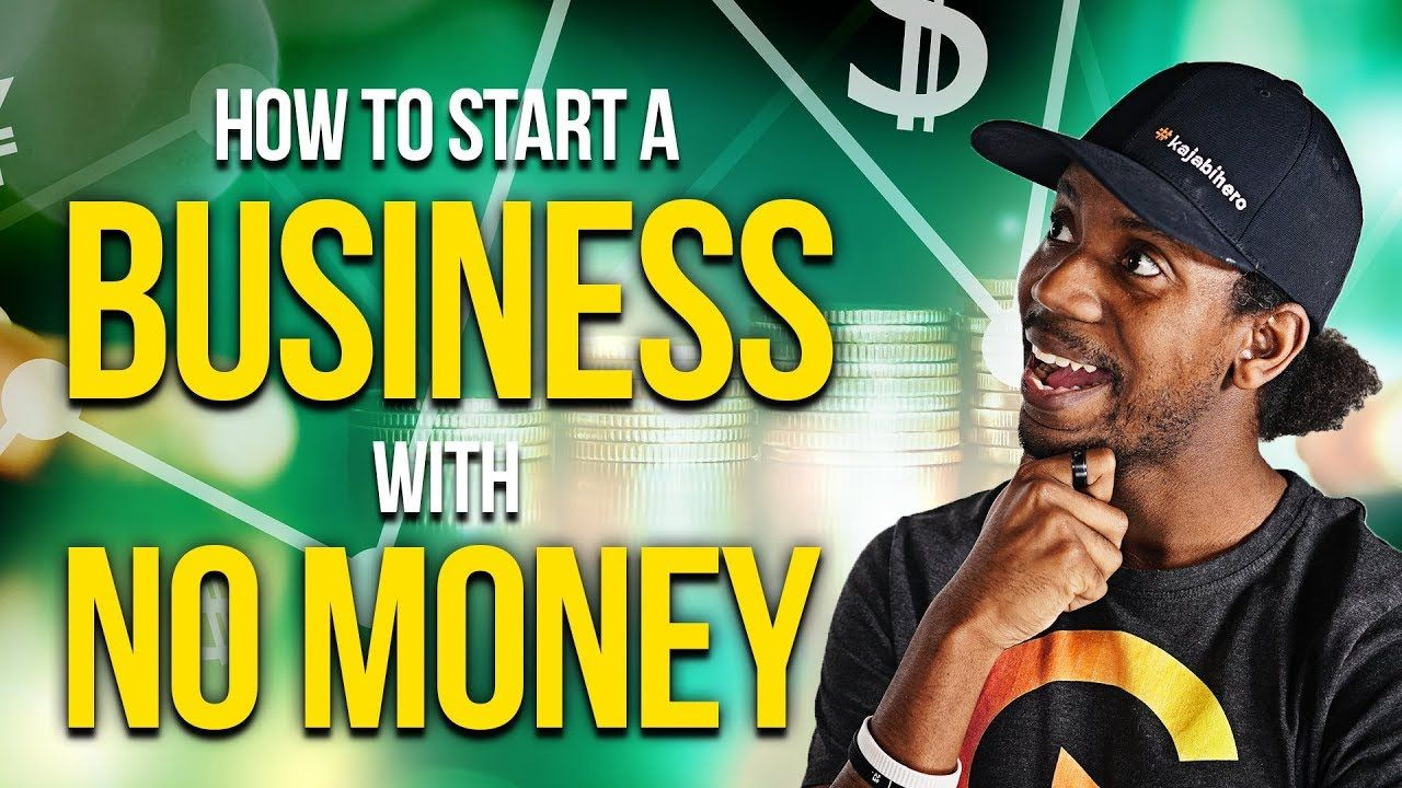HOW TO START A BUSINESS WITH NO MONEY robertoblake