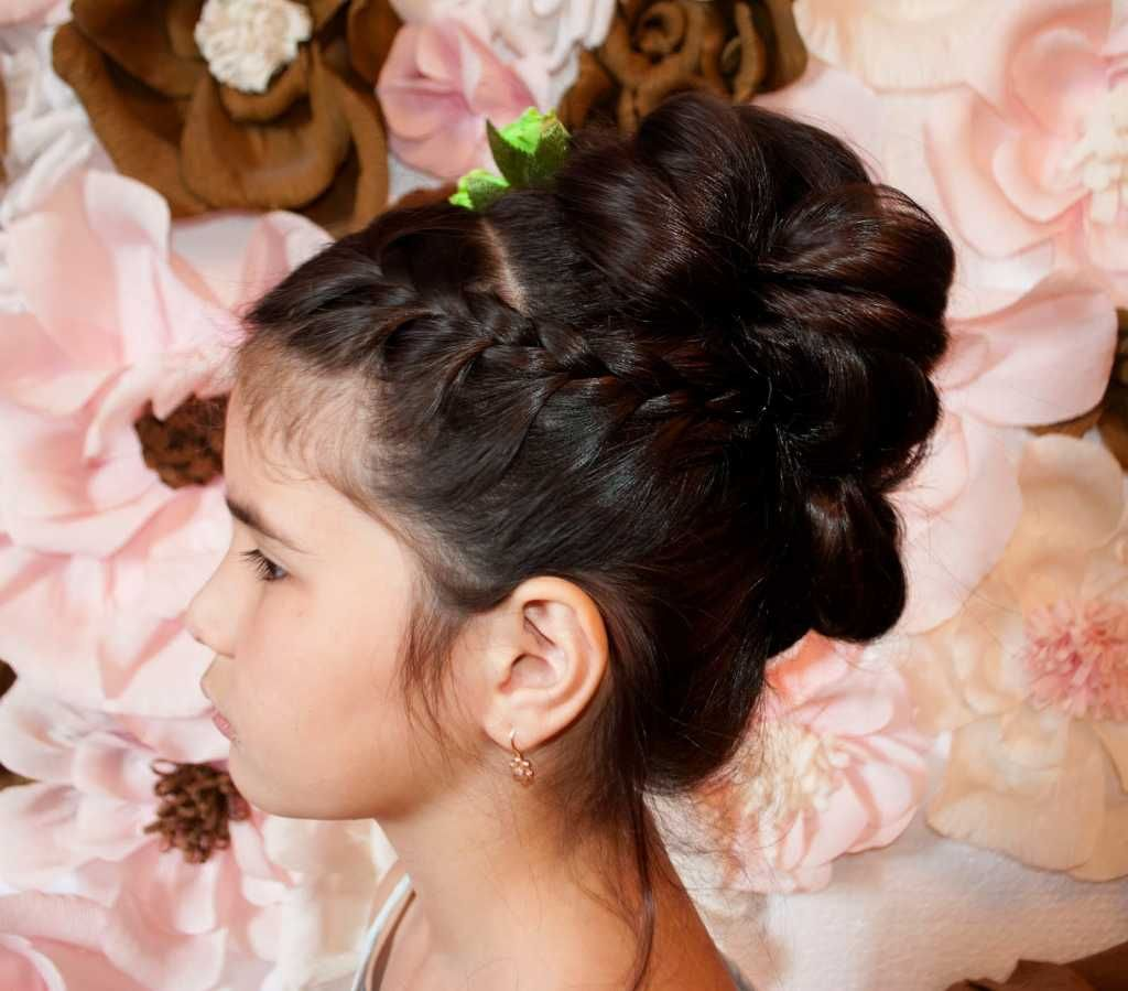 beautiful prom hairdress for kindergarten :: one1lady :: #hair