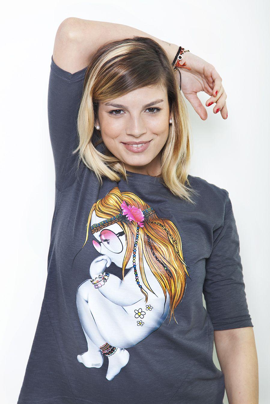 #emmamarrone t-shirt_2b  #fashion #cool #glamour #Amici 2014 #music