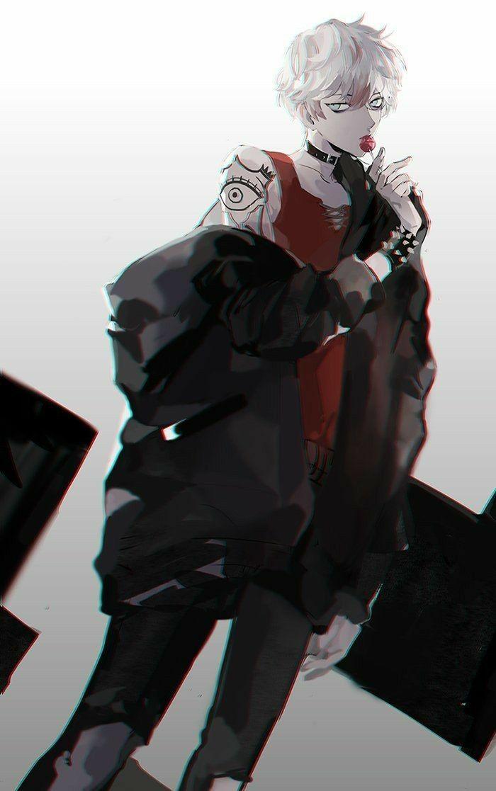 Dark Badass Anime Boy Wallpaper - osakayuku.com