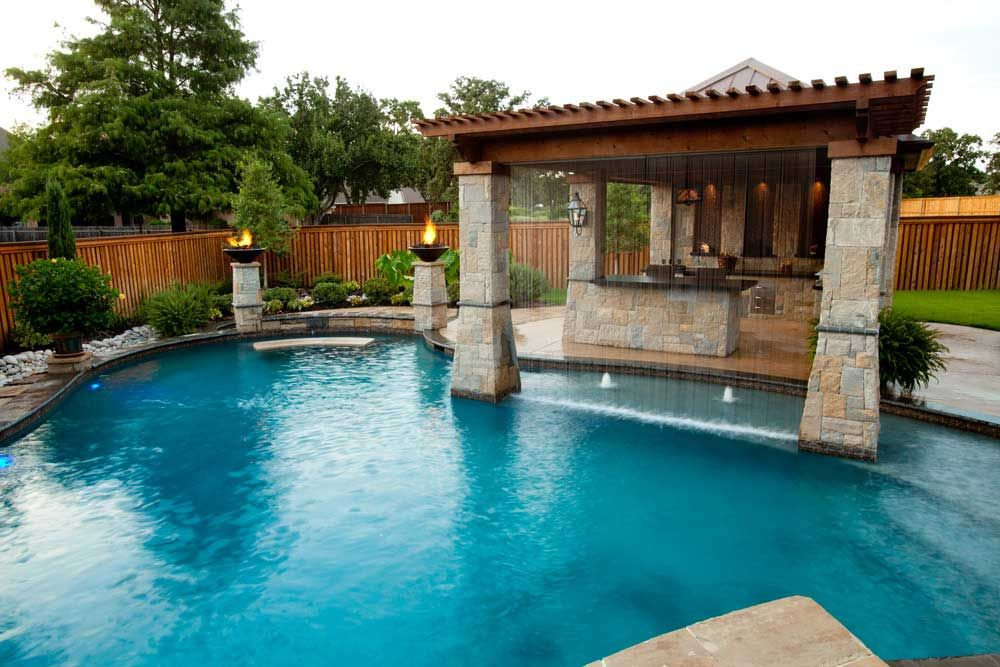 Custom pool builder serving greater houston u s pool corp katy sienna missouri city for Swimming pool supplies houston