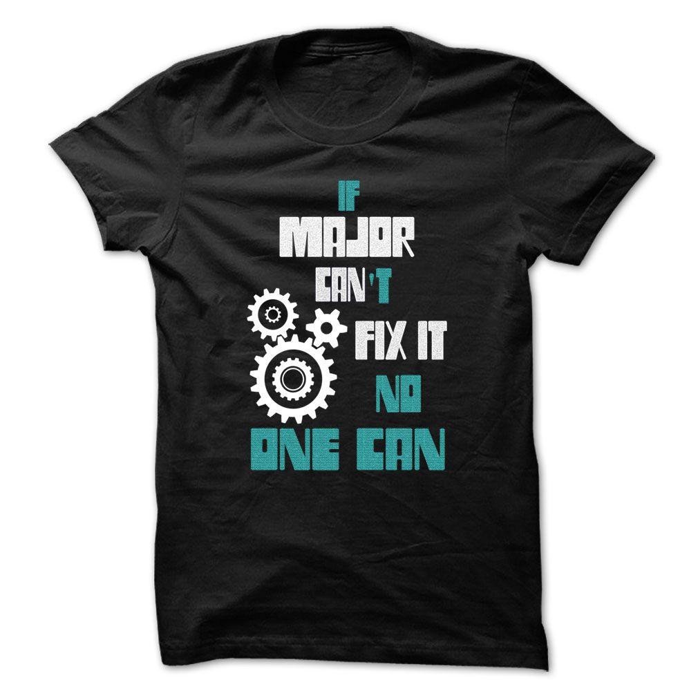 (Tshirt Coupon Today) MAJOR Mechanic 999 Cool Name Shirt at Tshirt United States Hoodies, Tee Shirts