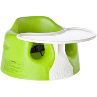 Buy Bumbo Baby Floor Seat with Play Tray - Lime at Argos ...