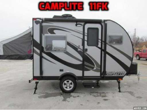 2015 Livinlite CampLite Camplite Travel Trailers 11FK in