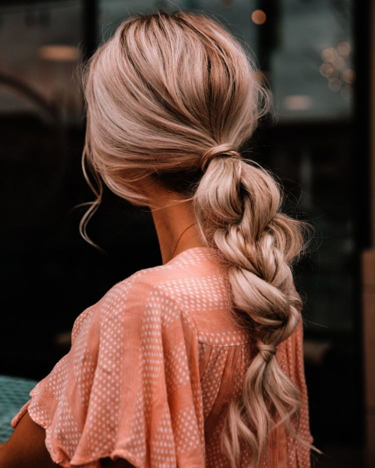 Hair Extensions In Nyc Since Hair Extensions To Add Volume Hair Colors Cool Since Haircut Edison Braided Hairstyles Hair Styles Braided Ponytail Hairstyles