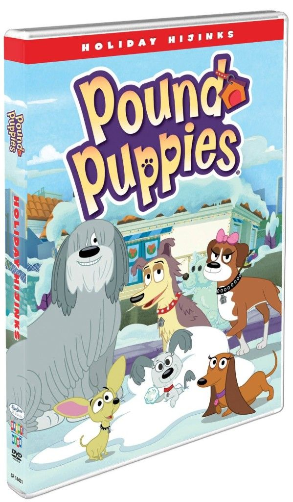 Win Pound Puppies Holiday Hijinks DVD Release Date