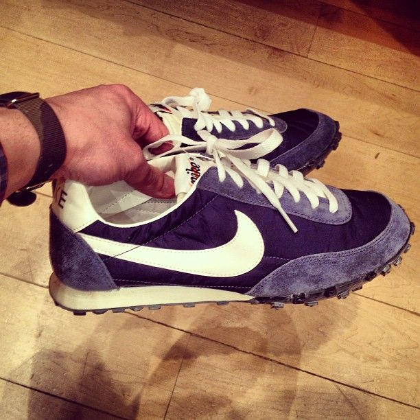 Vintage Collection Waffle Racer Sneakers by NIKE. Photo by @joshuaelias