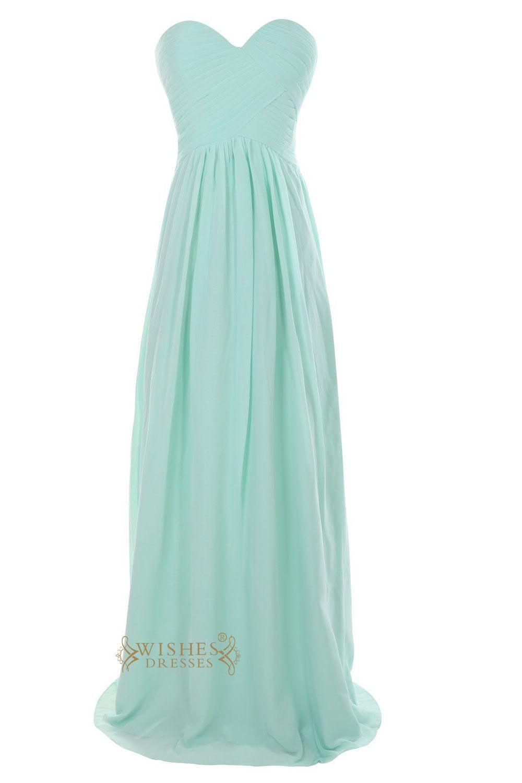 Mint green long dress  Long Mint Bridesmaid Dresses For Bridal Party Am  Mint bridesmaid