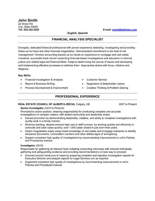 Pin by Meenakshi on Resume | Resume, Sample resume, Forensic