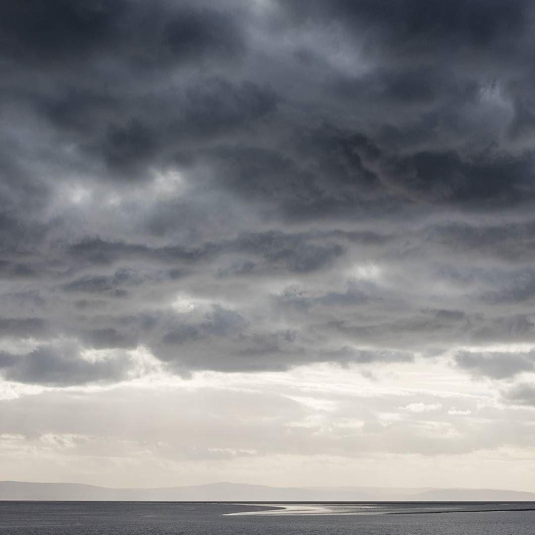 Last light Berrow Flats Somerset. #ukcoastwalk Photo: Quintin Lake www.theperimeter.uk