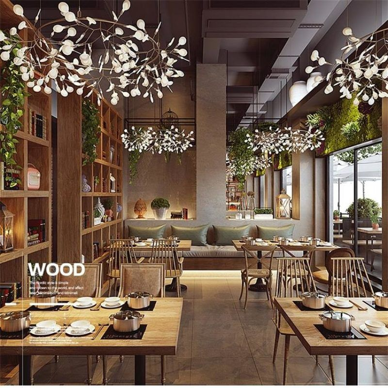 Dutti D0007 Led Pendant Light Nordic Modern Rustic Minimalist Creative Led Living Room Chandelier A Chandelier In Living Room Chandelier Art Led Pendant Lights #rustic #living #room #chandelier