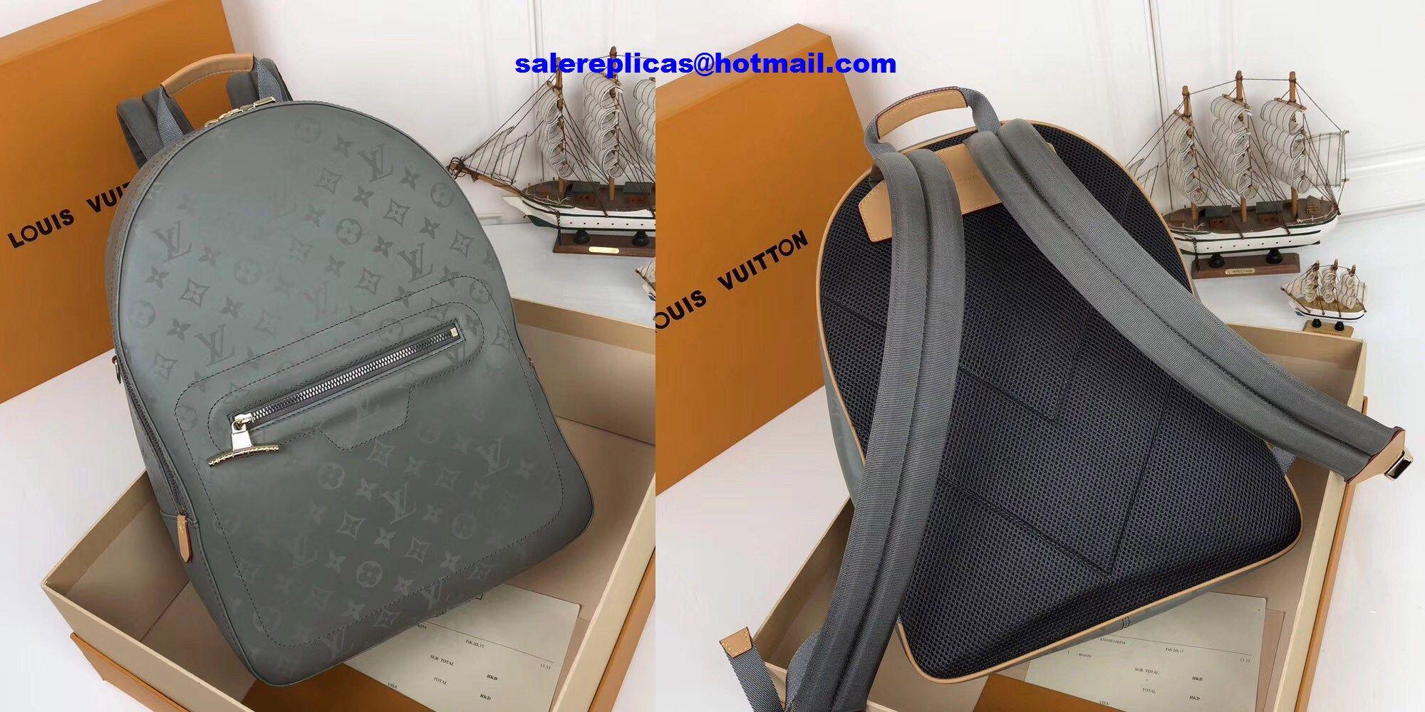 9c1007027c Louis Vuitton Titanium Backpack PM M43882