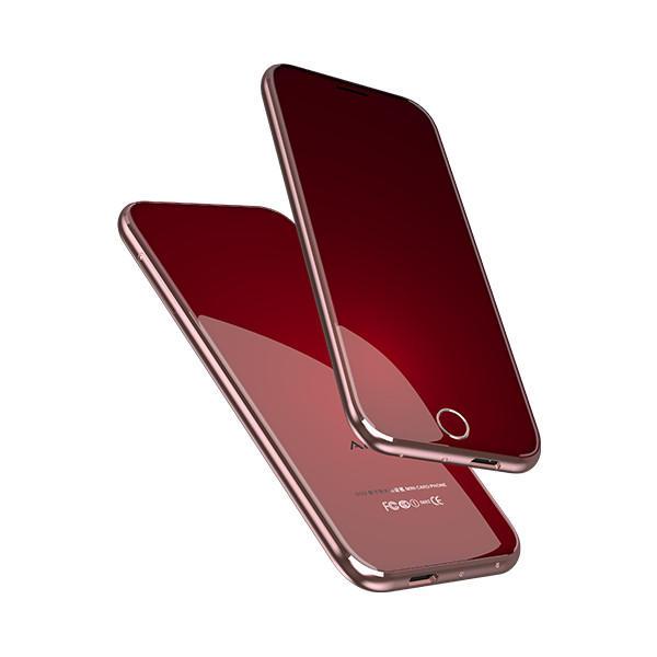 4cfcdf452dede8 Anica T8 1.54 Inch 400mAh Ultra Thin Dual SIM Bluetooth Remote Control Mini  Card Phone