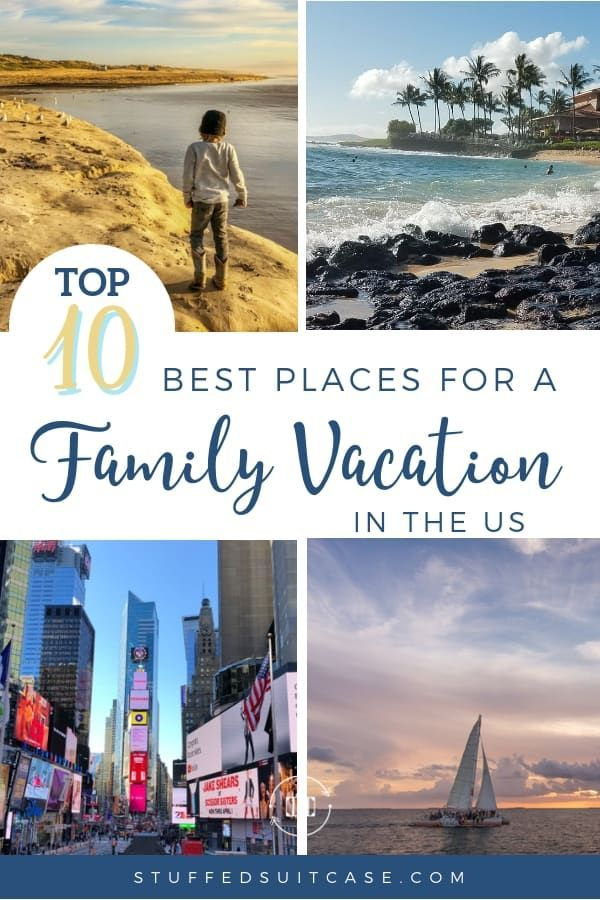 Top 31 Best Family Vacation Spots In The Us For 2021 Best Family Vacation Spots Family Vacation Spots Us Family Vacations