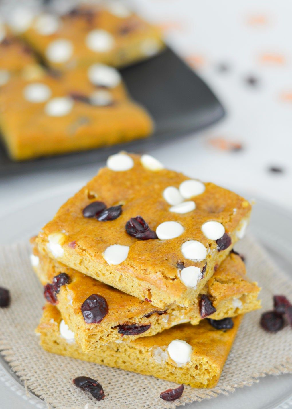 These cranberry white chocolate pumpkin bars are light cakey and these cranberry white chocolate pumpkin bars are light cakey and perfect for fall if aloadofball Image collections
