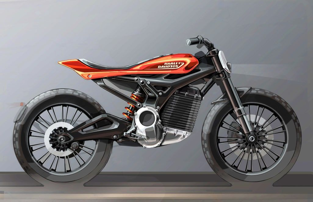 Future Electric Vehicle Rendering From Harley Davidson Harley Davidson Electric Motorcycle Electric Motorcycle Motorcycle Harley