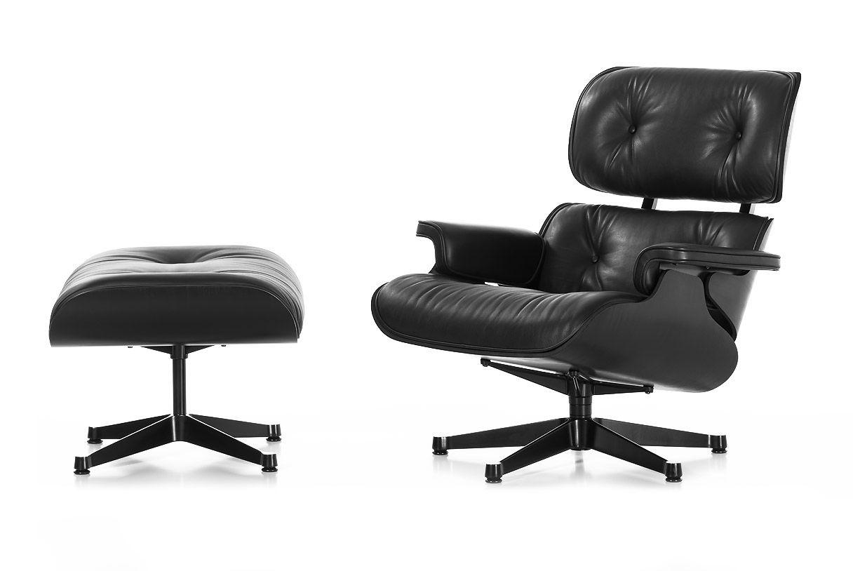 Eames Lounge Chair and Ottoman - Ash Black