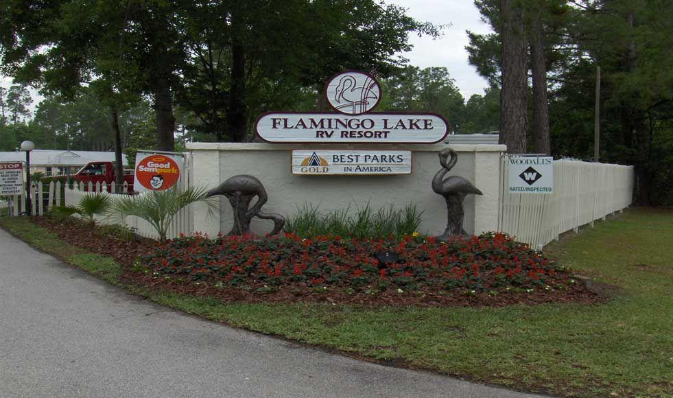 About Flamingo Lake Rv Resort Jacksonville Fl Flamingo Rv Camping Florida