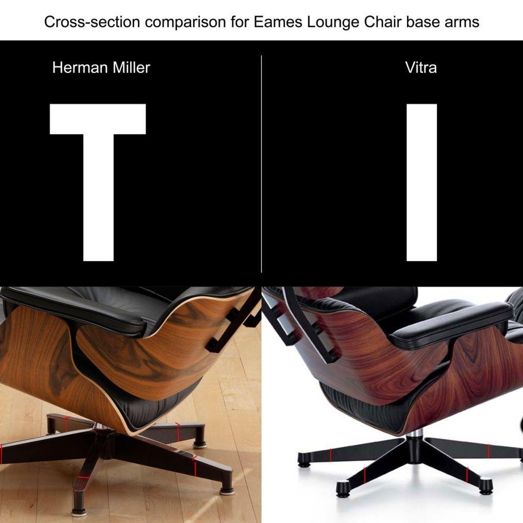 Amazing Eames Lounge Chair Herman Miller Vs Vitra Amazing Design