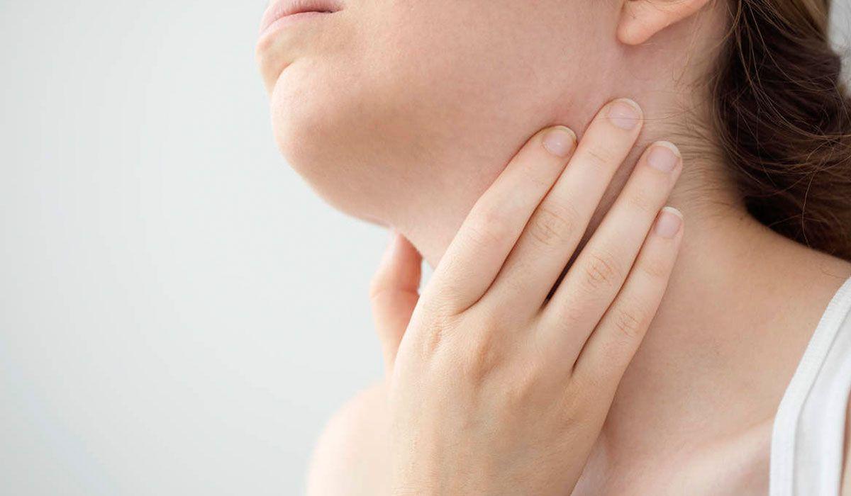 أعراض سرطان الغدة الجار درقية