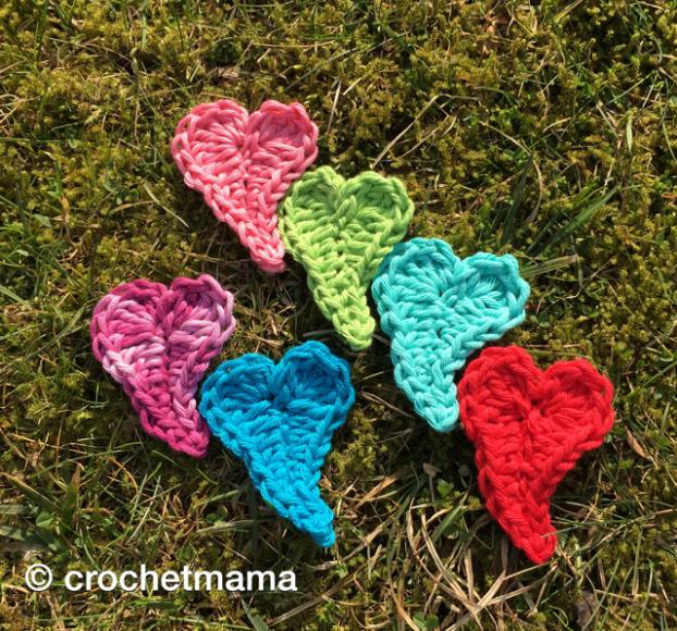 Häkelanleitung schnelles Herz LOVE IS IN THE AIR | Muttertag DIY ...