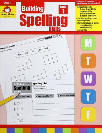 Building Spelling Skills Grade 1 Homeschool 9781557998392 Christianbook Com Spelling Activities Spelling Strategies Spelling Words