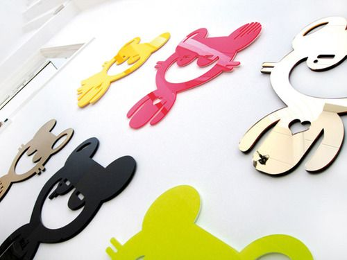 Best Cutesign Mik Character 3D Wall Stickers Designed By Ieva 400 x 300