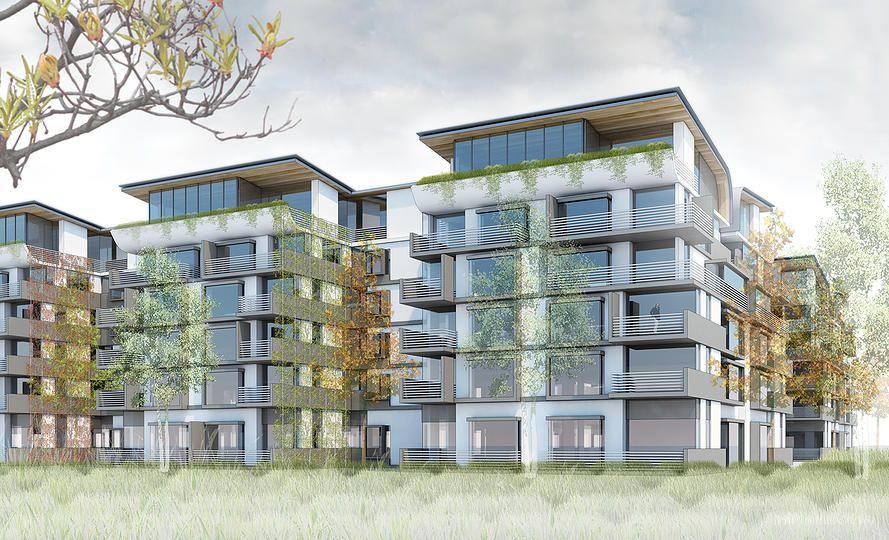 Building Los Angeles Gensler Designed Senior Housing For Playa Vista Playa Vista Mix Use Building Hotel Plan