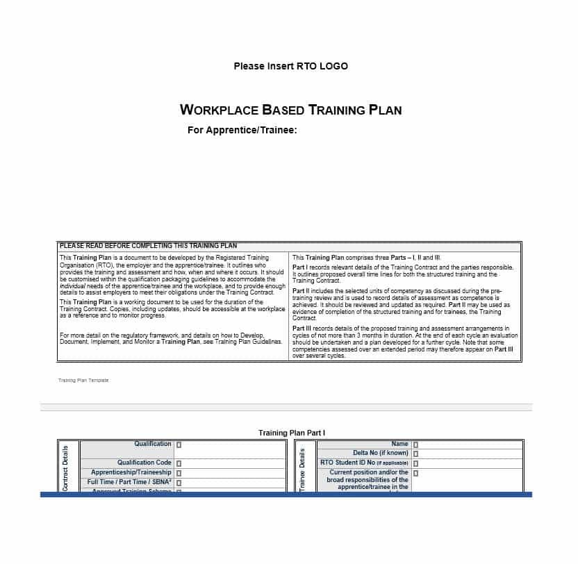 17+ Training Manual Templates Word, Excel  PDF Templates www