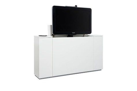 Platte Tv Kast.Tv Lift De Oplossing Middels Een Speciaal Lift Mechanisme Komt Uw
