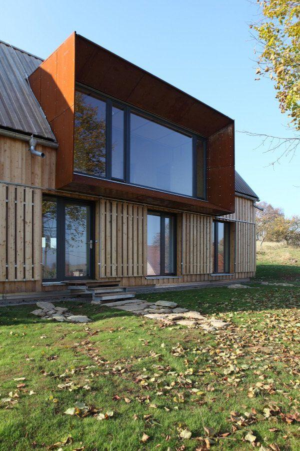 Mirador casa de campo roprachtice fachadas pinterest for Versare piani casa dormer