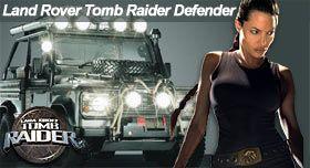 Land Rover Defender 90 Tomb Raider Movie Car 2001