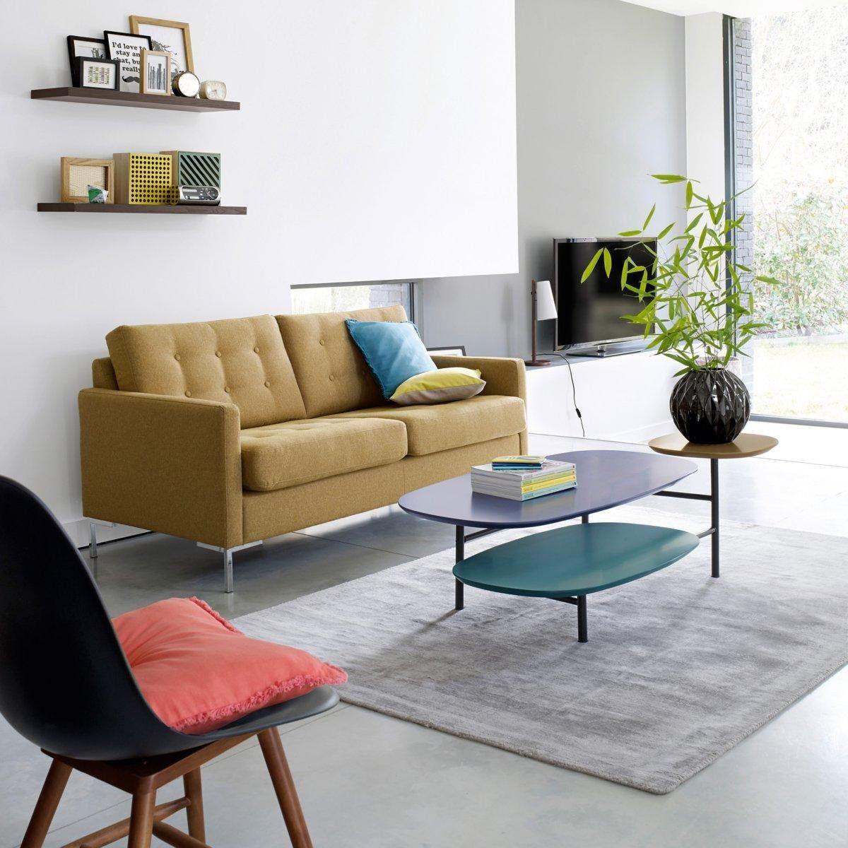 table basse 3 plateaux cr ateur guillaume delvigne sam baron meubles et d co la redoute. Black Bedroom Furniture Sets. Home Design Ideas