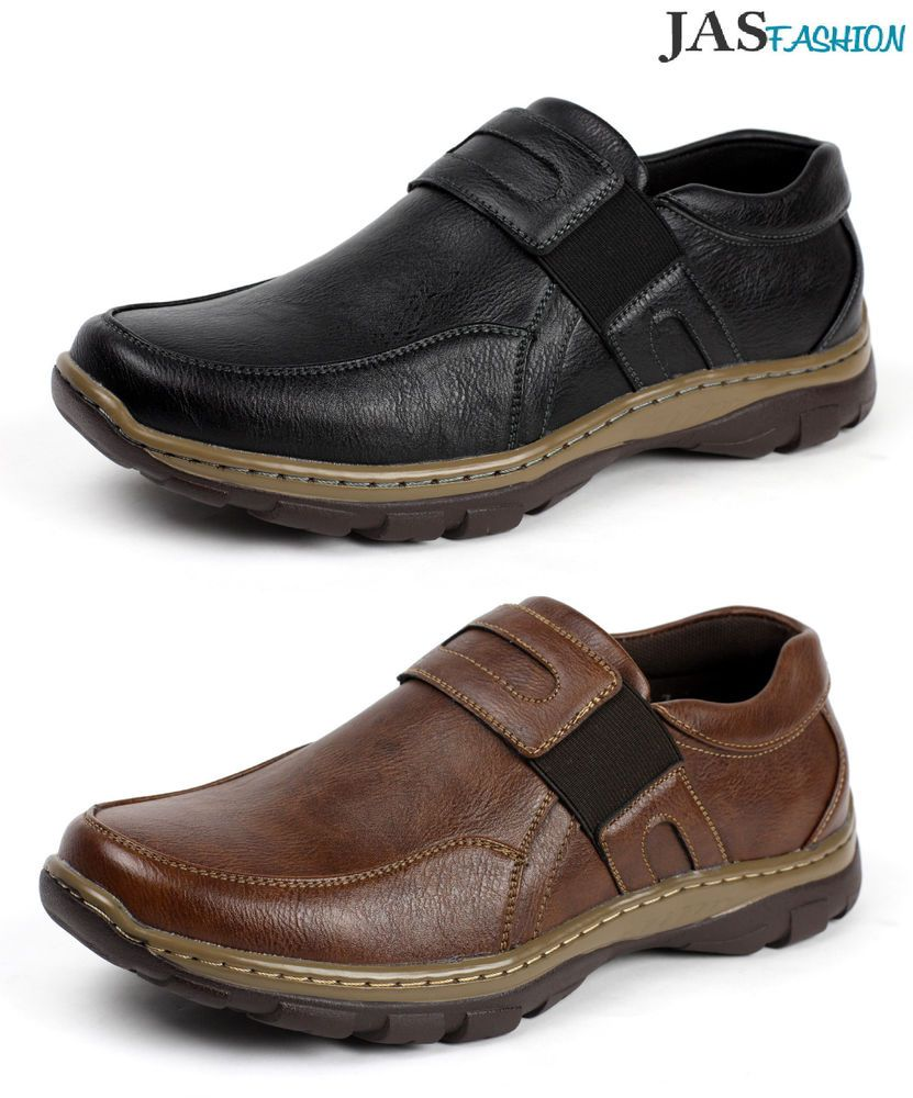 Details About Mens Smart Casual Slip On Walking Driving Moccasin
