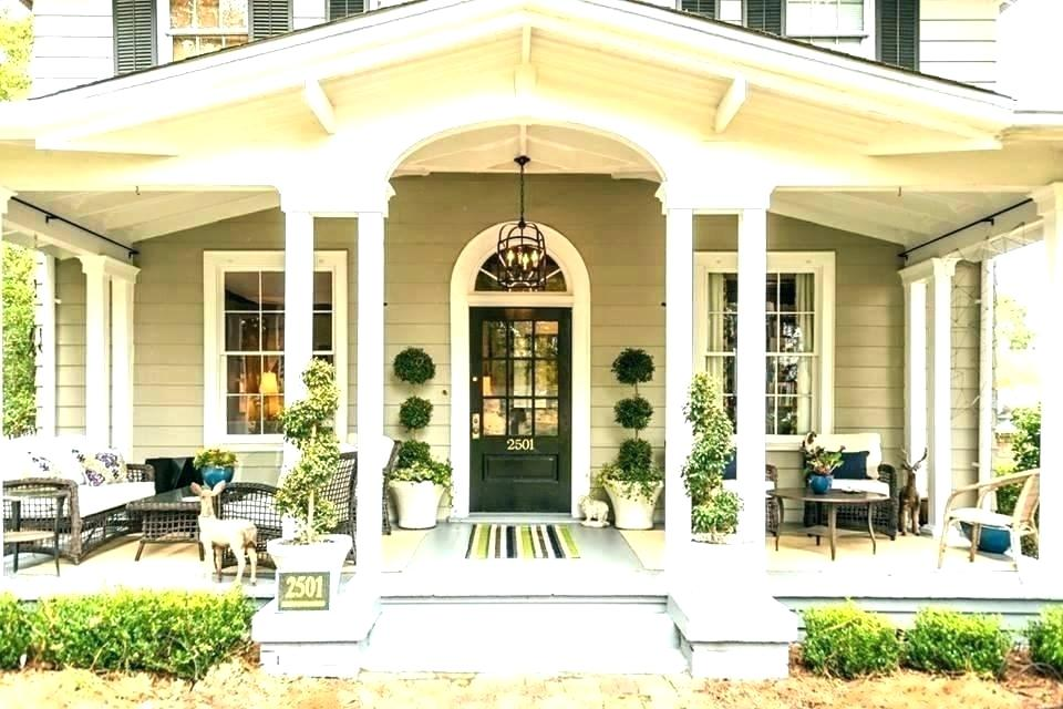 Front Porch Ideas For Colonial Homes Pictures Front Porch Designs For Ranch Homes In 2020 House Front Porch Front Porch Design Porch Design
