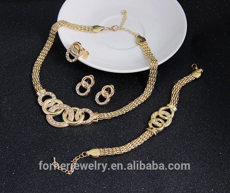 Best Selling 2015 18k Gold Plated Jewelry Set,African Beads ...