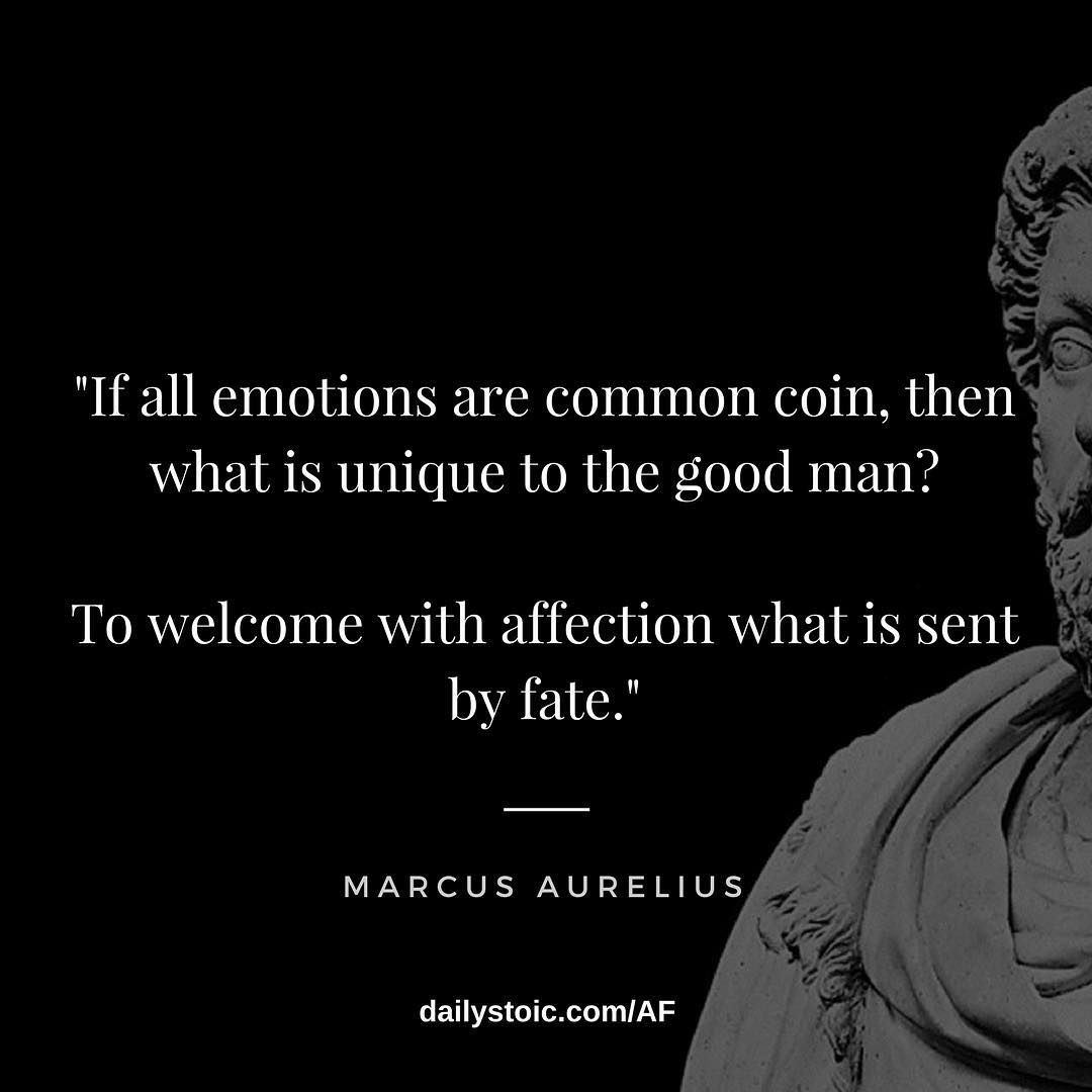 If All Emotions Are Common Coin Stoicism Quotes Stoic Quotes Wise Man Quotes