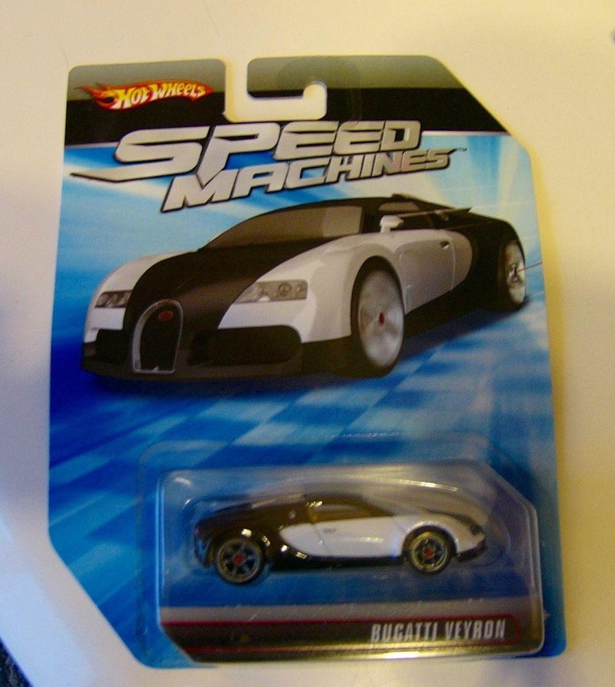2009 Hot Wheels Speed Machines Bugatti Veyron Black White No Perfect Card Lot 1 Bugatti Veyron Hot Wheels Veyron