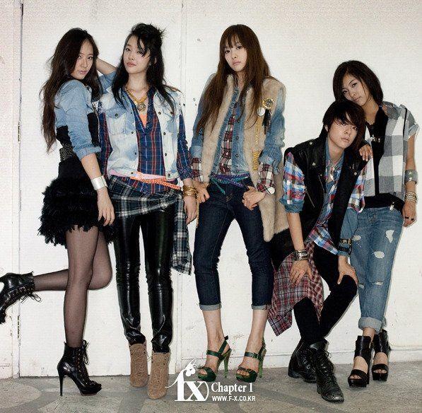 Krystal Jung, Victoria Song, Amber Liu, Sulli & Luna - f(x)