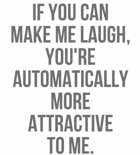 Haha! Yeahhh, But If You Can Make Me Laugh So Hard That I