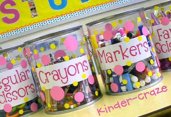 Cutest-Ever Supply Pails