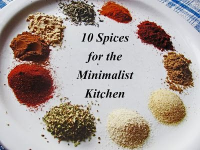 10 Spices For The Minimalist Kitchen With Images Minimalist